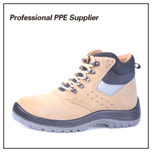 Genuine Leather Lightweight Breathable Safety Boot pictures & photos