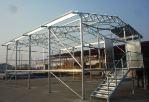 Steel Structure House Installation (DG3-009) pictures & photos