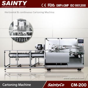 CM-200 Horizontal & Continuous Cartoning Machine
