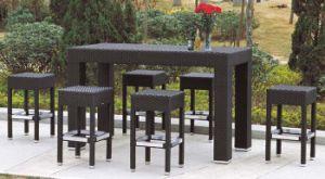 Outdoor Furniture Rattan Bar Stool Set pictures & photos