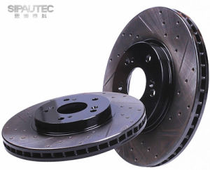 China Manufacturer Auto Brake System Rear Brake Rotor (FB0526251A) for Mazda pictures & photos