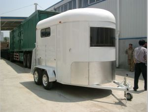 2 Horse Straight Load Float - Standard Trailer pictures & photos