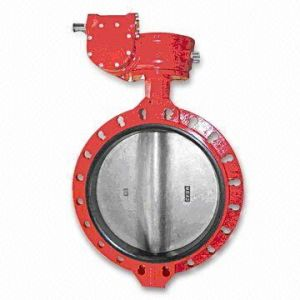 High Quality Wafer Butterfly Valve Worm Gear China Supplier pictures & photos