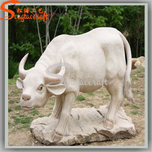 Garden Decoration Artificial Cattle Statues Animal Figurine pictures & photos