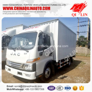 1t Payload 3300mm Wheelbase Dry Box Truck pictures & photos