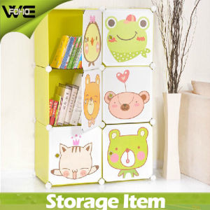 Wholesale Organizer System Toy Clothes Storage Cabinets Plastic Kids Wardrobe pictures & photos