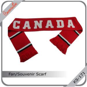 Customed Hot Sport Souvenir Scarf /Acrylic Scarf / Football Scarf