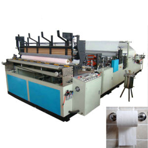 1750 Full Automatic High Speed Embossing Rewinding and Perforating Toilet Paper Machine pictures & photos