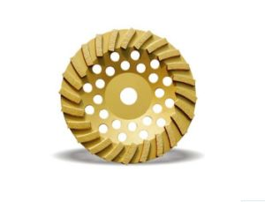 Turbo Diamond Grinding Wheel for Masonry (JL-DGWS) pictures & photos