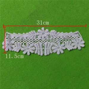 Netting Set Cotton Embroidery Lace Collar (cn123) pictures & photos