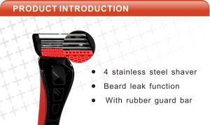 High Quality Disposable Shaving Razor Compete with Dorco pictures & photos
