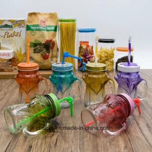 Factory Wholesale Bottle New Fox Design Elegant Mason Jar (100017) pictures & photos
