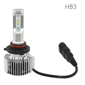 Hot Selling 60W 8000lm Fanless 9005/H11/H4 LED Headlight for Automotive pictures & photos