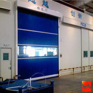 Automatic Industrial PVC High Speed Rolling Shutter Door pictures & photos