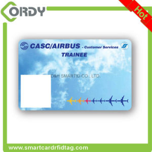 CMYK printed contactless MIFARE Classic 1k rewritable PVC RFID card pictures & photos