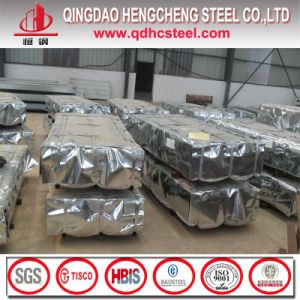 Sglcd Aluminium Zinc Coated Corrugated Steel Sheet pictures & photos