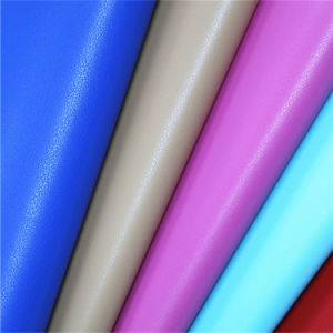 Superfine Quality PU Faux Leather for Fashion Bags pictures & photos
