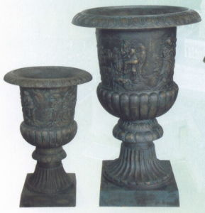 Cast Iron Urn Cap59A Cap59b pictures & photos