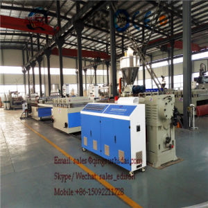 Making Machine PVC Decorating Board Plant Extruder Extrusion Line Production Line Making Machine PVC Imitated Marble Sheet/Wall Panel/Interior Decoration Board pictures & photos