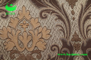 Polyester Jacquard Curtain Fabric (BS1009-3) pictures & photos