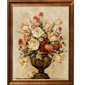The Newest Design Decoration Flower Oil Paintings Handmade Artworks Hot Sale pictures & photos