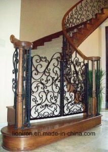 Decorative Wrought Iron Railings for Stair Luxury pictures & photos