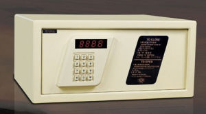 High Qualitied Armor Plate Electronic Safe for Hotel Room (SB-189AE Beige) pictures & photos