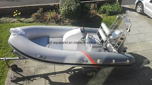Aqualand 14feet 4.2m Rib Inflatable Boat/Fishing Motor Boat (RIB420A) pictures & photos