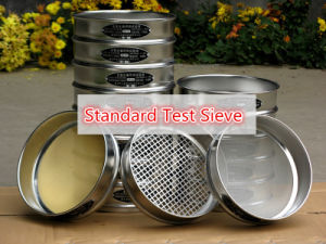 10/20/30/40/50/60/80/100/150/180/200 Mesh Standard Sieve for Soil/Stone/Sand/Medicinal Powder/Tea Sifting pictures & photos