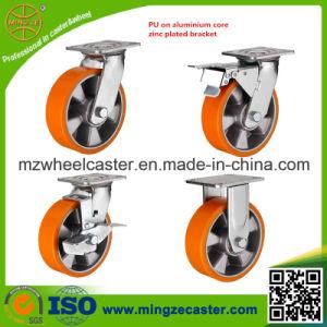 Aluminium Center PU Caster Wheel pictures & photos