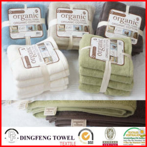 100% Organic Cotton Gift Towel Sets Df-C185 pictures & photos