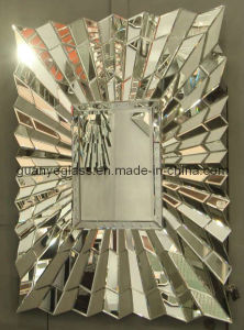 Art Deco Sunburst Mirror (GJ038)