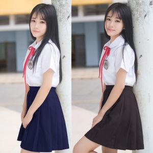Girls Japanese Style School Uniform pictures & photos