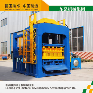 Qt10-15 Fly Ash Brick Machine China (39 Project in India) pictures & photos