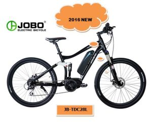 Moped with Pedals Electric Bicycle MID Bafang Motor Bike (JB-TDC28L) pictures & photos