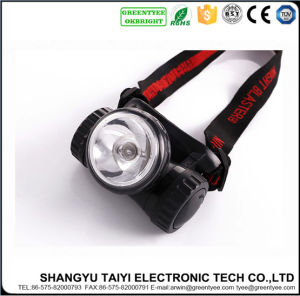 High Power Outdoor Camping Hiking Walking Running Rechargeable 3W LED Headlamp pictures & photos