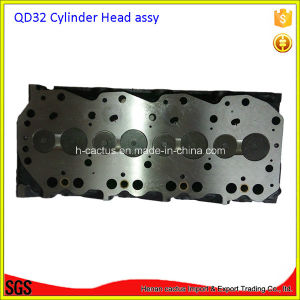 Complete Qd32 Cylinder Head Assembly for Nissan Frontier 3153cc 3.2D Ohv 8V 1997-