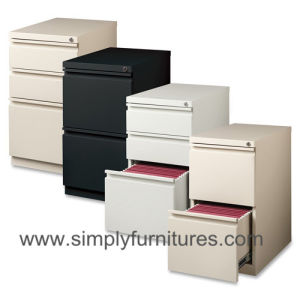 Mobile File Cabinet / Movable Filing Cabinet (SI6-LCF23BW) pictures & photos