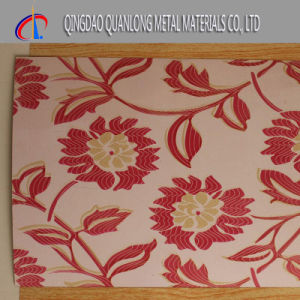 Color Coated Steel Coil with Flower Pattern pictures & photos