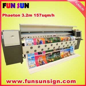 Phaeton UD-3278K Big Heavy Duty Large Solvent Inkjet Printer with Seiko Spt510/50pl Head, 157sqm/H PVC Banner Printer pictures & photos