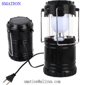 Flexible Camper Tent Battery Operated Backpacking Brightest Solar Camping Lantern pictures & photos