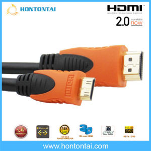 Mini HDMI to HDMI Cable for HDTV DV 1080P
