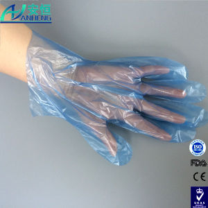Disposable Poly Glove for Food Handling FDA 177.1520 pictures & photos
