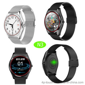 2017 New Round Screen Bluetooth 4.0 Smart Watch N3 pictures & photos