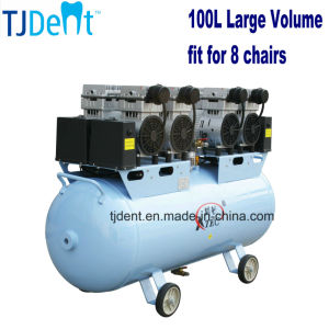 100L Ce Approved for 8 Chairs Dental Air Compressor (TJ-320/100) pictures & photos