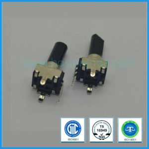 9mm 100k Ohm Rotary Potentiometer with Insulated Long Shaft for Mixer pictures & photos