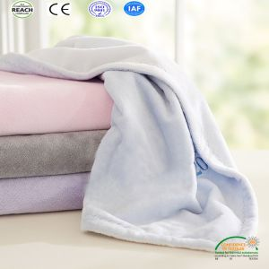 Plain Dyed Color Baby Blanket pictures & photos
