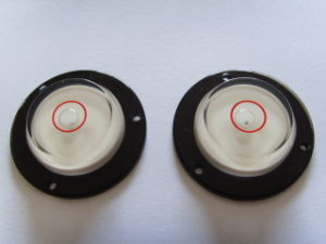 Circular Bubble Vial with Flanged (EV-V915) pictures & photos