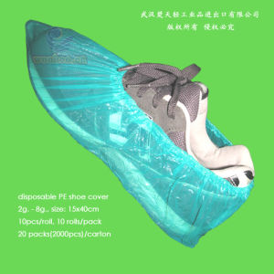 Disposable LDPE Overshoes pictures & photos