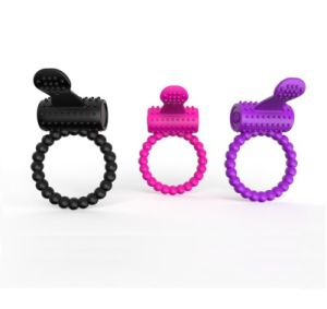 Male Penis Stay Hard Ring Powerful Vibration Silicone Ring Wholesale pictures & photos